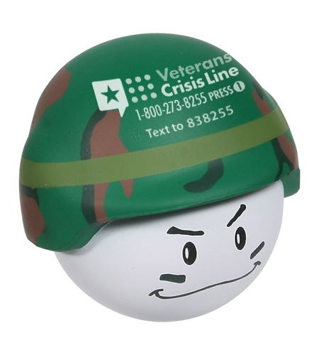 Denver VA Veterans Crisis Hotline Mad Soldier custom swag
