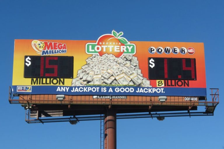Georgia Lottery billboard