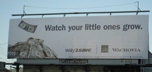 Wachovia Billboard