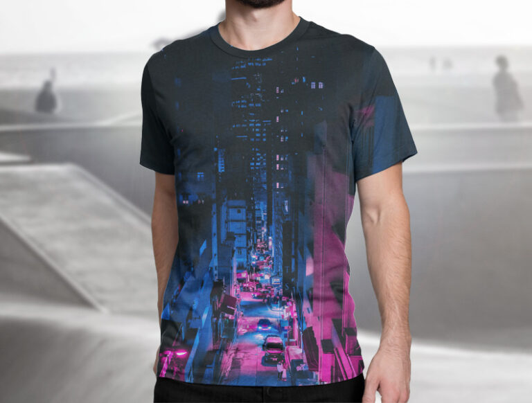 Full Color Sublimation Custom Tshirts